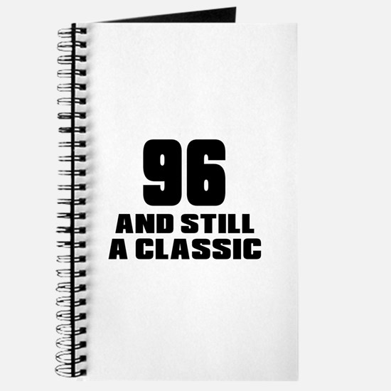 96 And Still A Classic Birthday Designs Journal