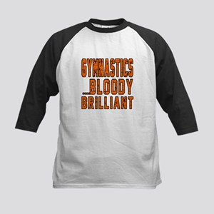 Gymnastics Bloody Brilliant S Kids Baseball Jersey