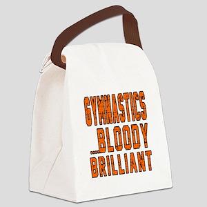Gymnastics Bloody Brilliant Sport Canvas Lunch Bag