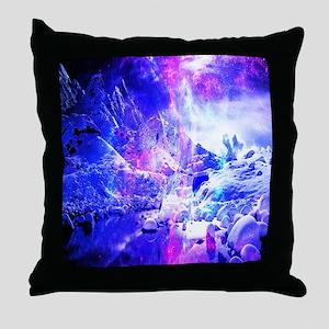 Amethyst Yules Night Dreams Throw Pillow