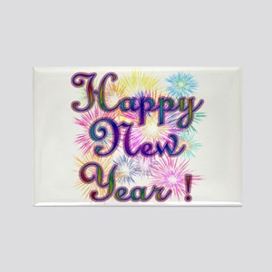 Happy New Year Magnets