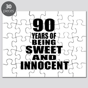 90 Years Being Sweet And Innocent Puzzle
