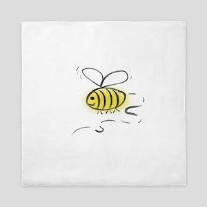 Bee Zoom Queen Duvet
