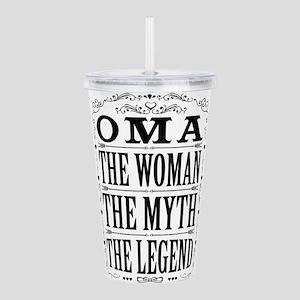 Oma The Legend... Acrylic Double-wall Tumbler