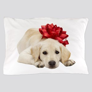Yellow Lab Puppy Pillow Case
