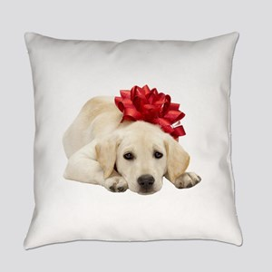 Yellow Lab Puppy Everyday Pillow
