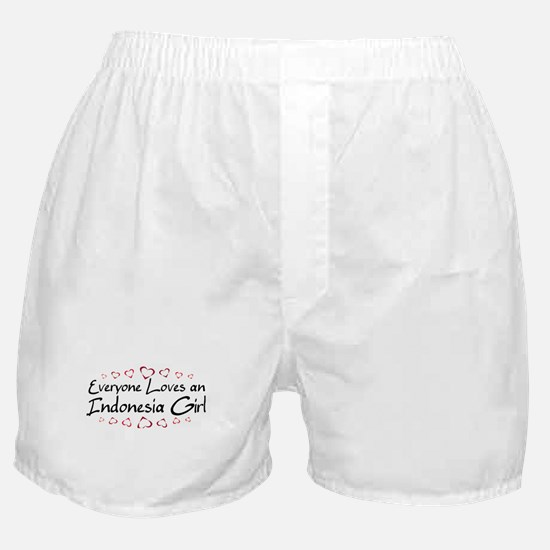 Indonesia Girl Boxer Shorts