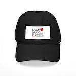 LOVE MAKES A FAMILY Black Cap