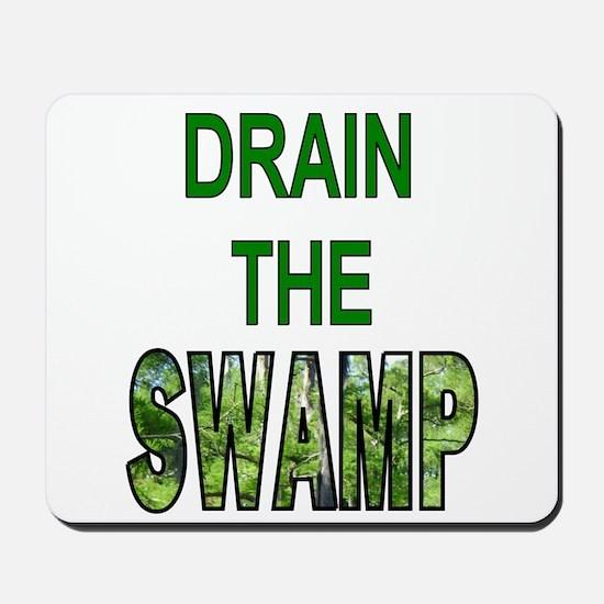 Drain The Swamp Mousepad