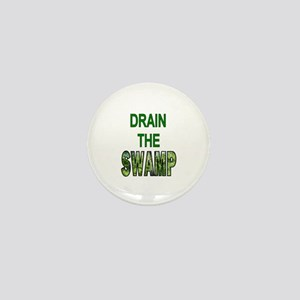 Drain The Swamp Mini Button (10 Pack)