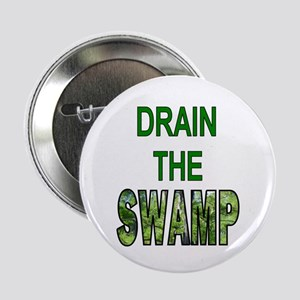 """Drain The Swamp 2.25"""" Button (10 Pack)"""