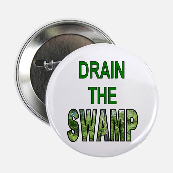"Drain The Swamp 2.25"" Button (10 Pack)"