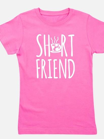 Coffee BFF Short Friend (white) Girl's Tee