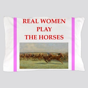 horse race Pillow Case