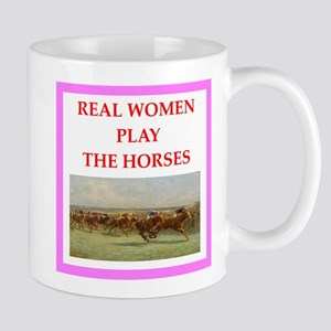 horse race Mugs