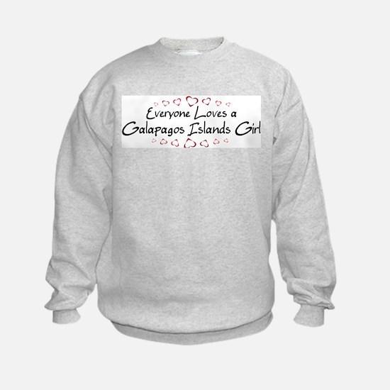 Galapagos Islands Girl Sweatshirt