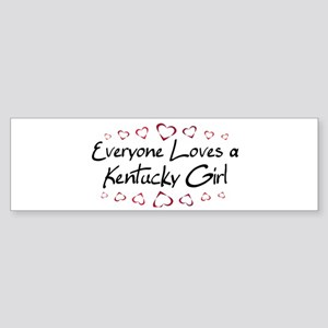 Kentucky Girl Bumper Sticker