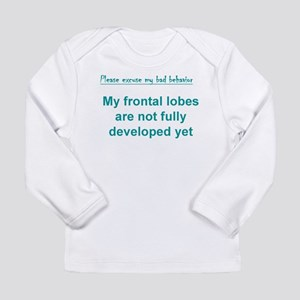 2-Frontal lobes Long Sleeve T-Shirt