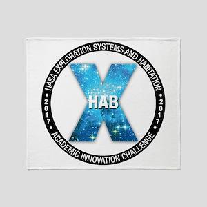 X-Hab 2017 Throw Blanket