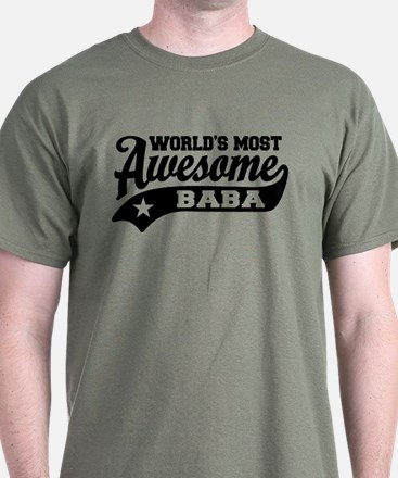 World's Most Awesome Baba T-Shirt