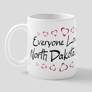 North Dakota Girl Mug