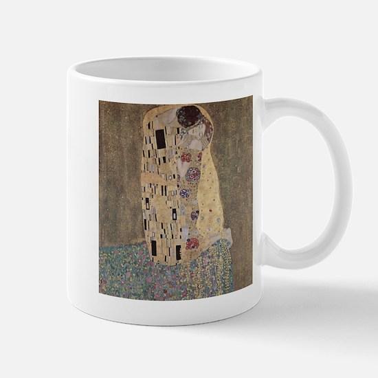 The Kiss by Gustav Klimt Mugs