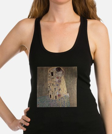 The Kiss by Gustav Klimt Racerback Tank Top