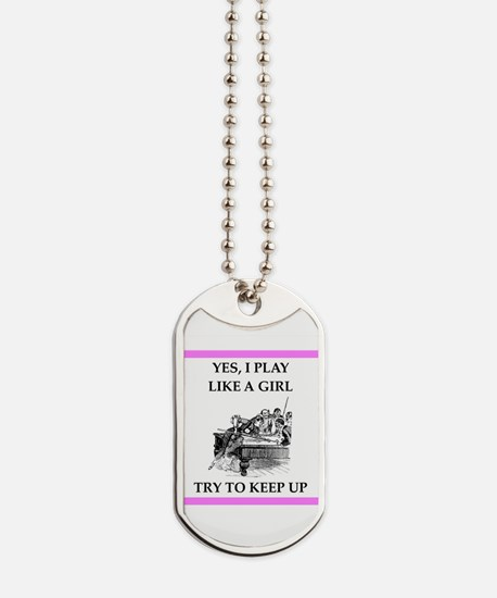 billiards Dog Tags