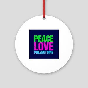 Phlebotomy Round Ornament