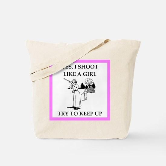 trapshooting Tote Bag
