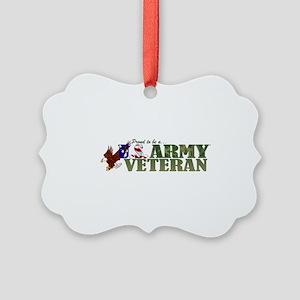 Proud US Army Veteran Ornament