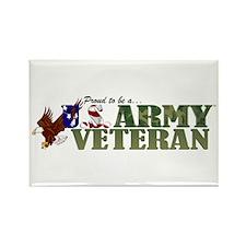 Proud US Army Veteran Magnets