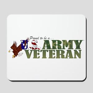 Proud US Army Veteran Mousepad