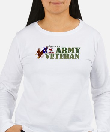 Proud US Army Veteran Long Sleeve T-Shirt