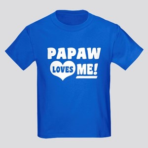 PaPaw Loves Me Kids Dark T-Shirt