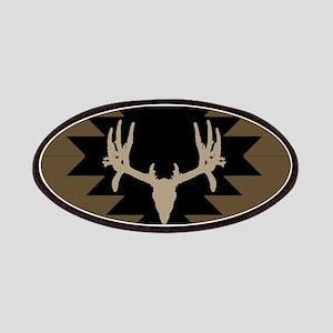 Buck deer American Indian art Patch