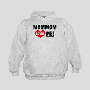 MomMom Loves Me Kids Hoodie