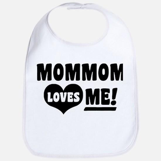MomMom Loves Me Bib