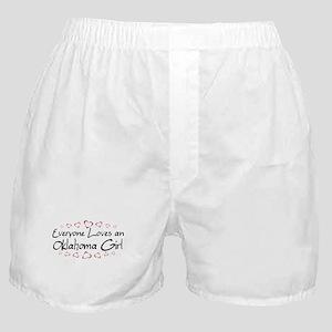 Oklahoma Girl Boxer Shorts