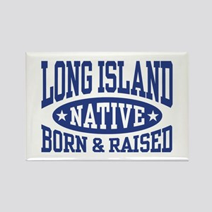 Long Island Native Rectangle Magnet