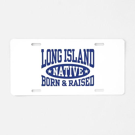 Long Island Native Aluminum License Plate
