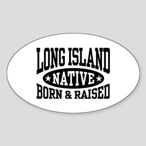 Long Island Native Sticker (Oval)