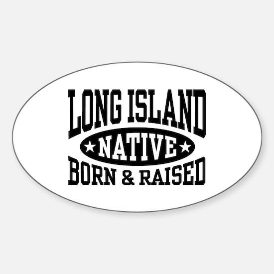 Long Island Native Sticker (Oval)