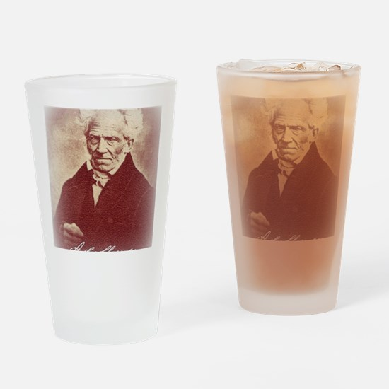 Unique Schopenhauer Drinking Glass