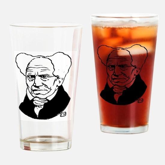 Funny Schopenhauer Drinking Glass