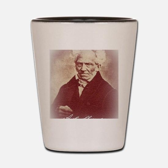 Cool Pessimistic Shot Glass