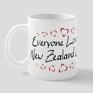 New Zealand Girl Mug