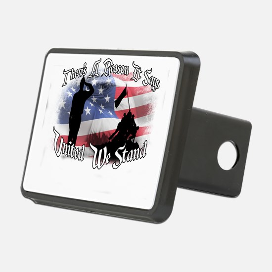 Cute United we stand Hitch Cover
