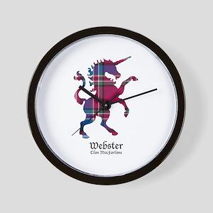 Unicorn-Webster.MacFarlane Wall Clock