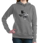 Real Texas Women's Hooded Sweatshirt